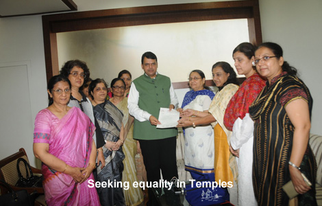 Seeking equality in Temples